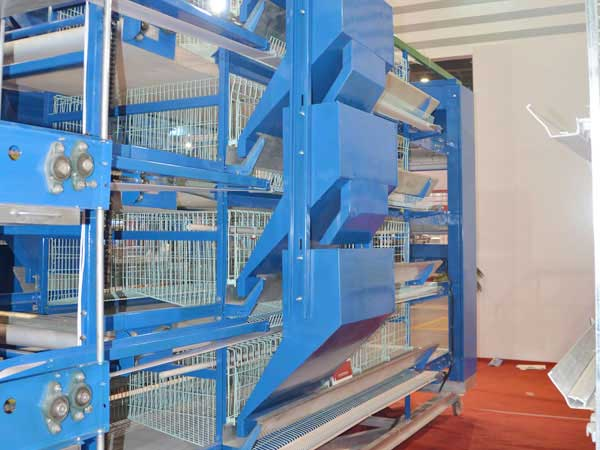 Ladder type automatic feeding machine